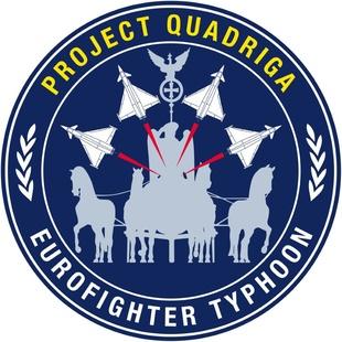 Logo for Quadriga programme
